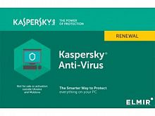 Антивирус Kaspersky Anti-Virus Dt Desktop Card Band B: 2 2Dt Renewal 1 year - Интернет-магазин Intermedia.kg