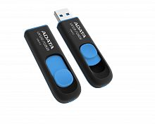 Флеш карта 256GB USB 3.0 A-DATA UV128 BLACK/BLUE - Интернет-магазин Intermedia.kg