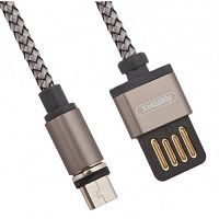Кабель REMAX Gravity series Data Cable RC-095m for Micro tarnish - Интернет-магазин Intermedia.kg