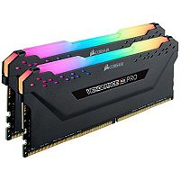 Оперативная память DDR4 16GB (2x8GB) Corsair Vengeance RGB PRO PC-24000 (3000MHz) CL15 Kit Black [CMW16GX4M2C3000C15] - Интернет-магазин Intermedia.kg