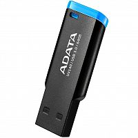 Флеш карта A-Data 64GB UV140 USB 3.2 Black-Blue - Интернет-магазин Intermedia.kg