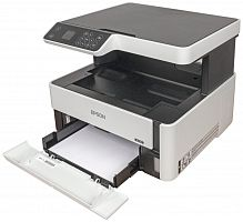 МФУ Epson M2140 (Printer-copier-scaner, A4, 39ppm Black, 1200х2400 dpi, 1200x2400 scaner, LCD 3.7cm, 64-90g, m2, Duplex, USB)