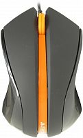 Мышь A4tech  N-310 V-TRACK NOTEBOOK MOUSE USB BLACK/ORANGE - Интернет-магазин Intermedia.kg
