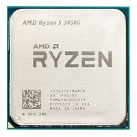 CPU AM4 AMD RYZEN 5 3400G 3.7-4.2GHz,4MB Cache L3,4Cores+8Threads,RX VEGA,Matisse - Интернет-магазин Intermedia.kg