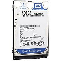 Жесткий диск WD 500GB 5400 SATA Notebook Hard Disk SLIM - Интернет-магазин Intermedia.kg