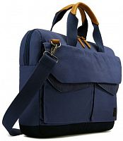 "Сумка CASE LOGIC LODA114DBL 14.1"" ATTACHE DRESS BLUE - Интернет-магазин Intermedia.kg"