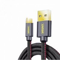 Remax RC-096a Cowboy Data Cable USB-Type-C, 1.2m, blue - Интернет-магазин Intermedia.kg