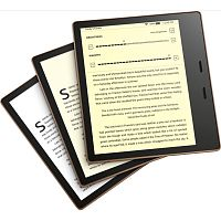 "Электронная книга Kindle Oasis 3 2019 (10th Generation), 7"" (1264х1680) Touch E-Ink Carta Display 300 PPI, 32GB, IPX8, Wi-Fi, Bluetooth, Graphite - Интернет-магазин Intermedia.kg"