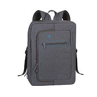 "Рюкзак RivaCase 7590 Canvas Grey 16"" Backpack"