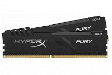 Оперативная память DDR4 32GB (2x16GB) PC-25600 (3200MHz) Kingston HYPERX FURY BLACK HX432C16FB4K2/32 - Интернет-магазин Intermedia.kg
