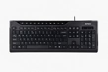 Клавиатура A4Tech KD-800 X-SLIM MULTIMEDIA KEYBOARD USB BLACK US+RUSSIAN - Интернет-магазин Intermedia.kg
