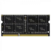 Оперативная память DDR3 SODIMM 8GB PC3L-12800 (1600MHz) TEAM Elite (UNIVOLTAGE) 1.35-1.5V (TED3L8G1600C11-SBK) - Интернет-магазин Intermedia.kg