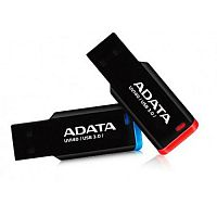 Флеш карта A-Data 64GB UV140 USB 3.2 Black-Red - Интернет-магазин Intermedia.kg
