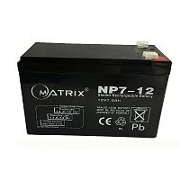 Батарея UPS MATRIX 7Ah,12V Lead-Acidgel - Интернет-магазин Intermedia.kg