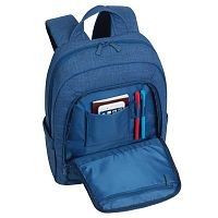 "Рюкзак RivaCase 7560 Canvas Blue 15.6"" Backpack"