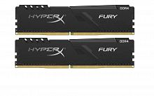 Оперативная память DDR4 64GB (4x16GB) PC-21333 (2666MHz) KINGSTON HYPERX FURY BLACK HX426C16FB4K4/64 - Интернет-магазин Intermedia.kg