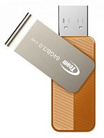 Флеш карта TEAMGROUP 128GB C143 USB3.0 Gold - Интернет-магазин Intermedia.kg
