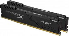 Оперативная память DDR4 32GB (2x16GB) PC-19200 (2400MHz) Kingston HYPERX FURY BLACK HX424C15FB3K2/32 - Интернет-магазин Intermedia.kg