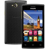 "Смартфон Philips S307 Black (4.0"" IPS (800x480), Quad-Core (1.3Ghz), 512MB, 4GB, Wi-Fi, Dual SIM, BT, Front 0.3Mp, Rear 2Mp, Android 4.4) - Интернет-магазин Intermedia.kg"