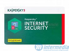 Антивирус Kaspersky Internet Security Dvc Card Band C: 3 3Dvc Renewal 1 year