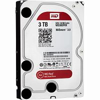 "Жесткий диск HDD 3TB WD Red NAS WD30EFRX-68EUZN0, 64MB, 5400RPM, SATA3 6.0Gb/s, 3.5"" - Интернет-магазин Intermedia.kg"